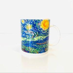 Starbucks Starry Night Van Gogh Coffee Mug 14 oz